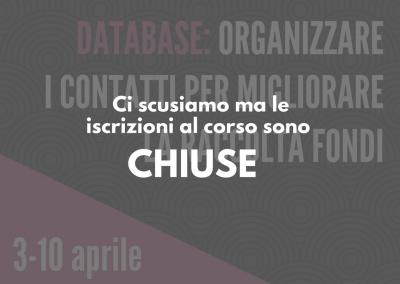 Database: organizzare i contatti per migliorare la raccolta fondi